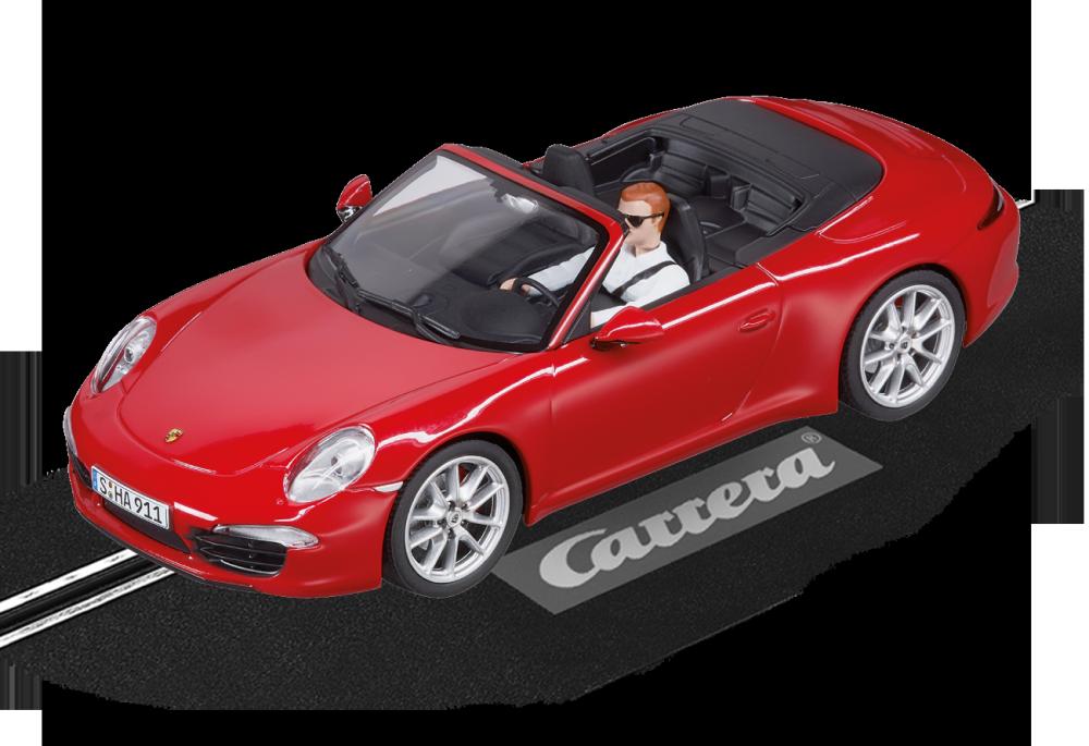 Carrera Evolution Porsche 911 Carrera S Cabriolet rot