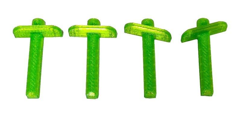 JS-Parts ultraflex Karosseriehalter v/h grün