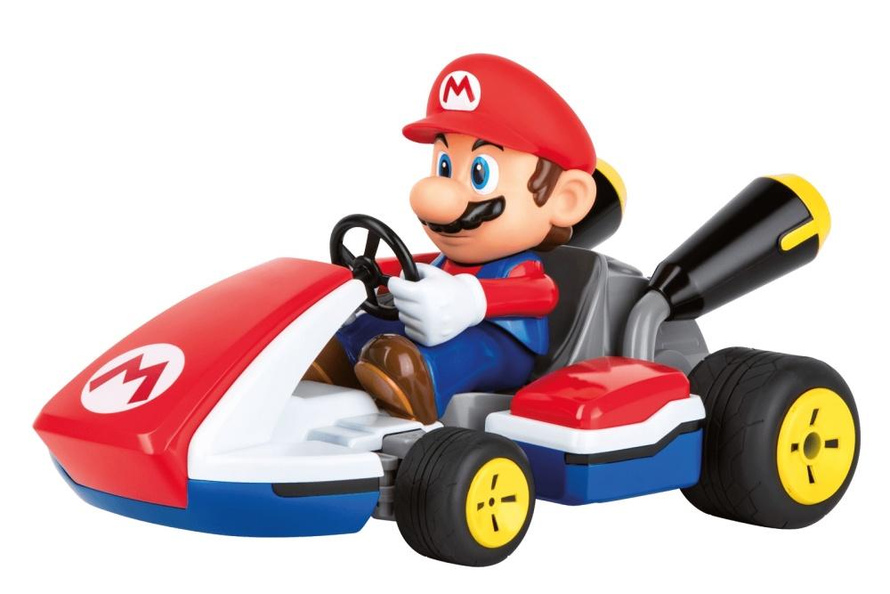 Auslauf -Carrera RC 2,4GHz Mario Kart(TM), Mario - Race Kart