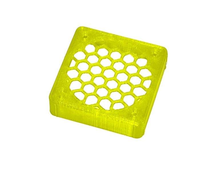 JS-Parts ultraflex Lüftergitter 40x10 geschlossen gelb