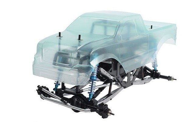RC4WD Carbon Assault 1/10th Monster Truck KIT RC4WD