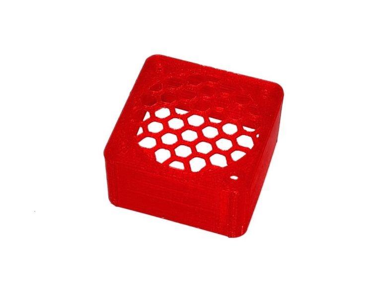 JS-Parts ultraflex Lüftergitter 40x20 geschlossen rot