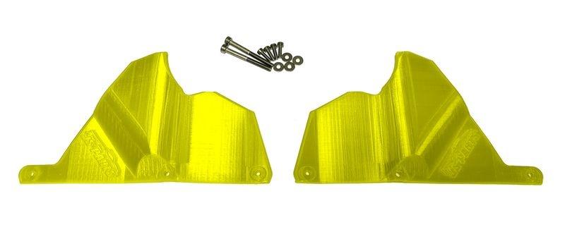 JS-Parts Mudguards für Traxxas X-Maxx gelb