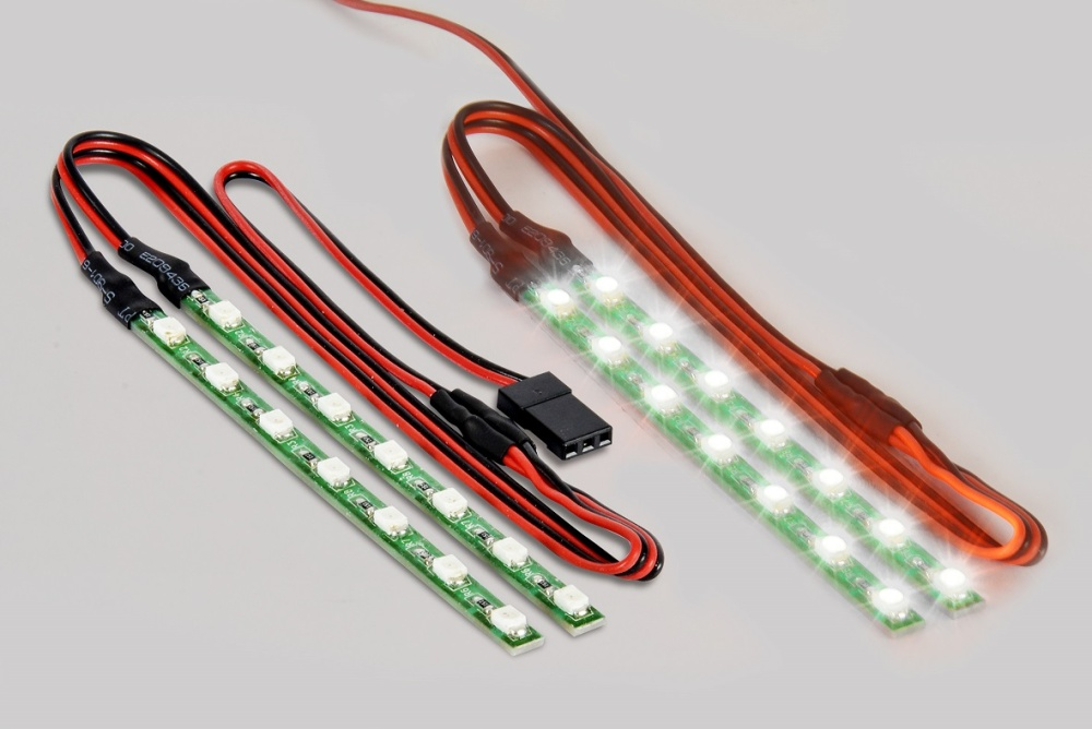 Carson LED Lichtstab Set weiss