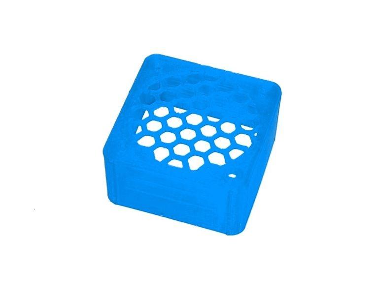 JS-Parts ultraflex Lüftergitter 40x20 geschlossen blau