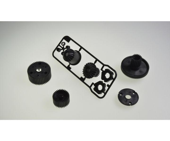 Tamiya CC-01 G-Teile Getriebesatz/Diff.-Sperre