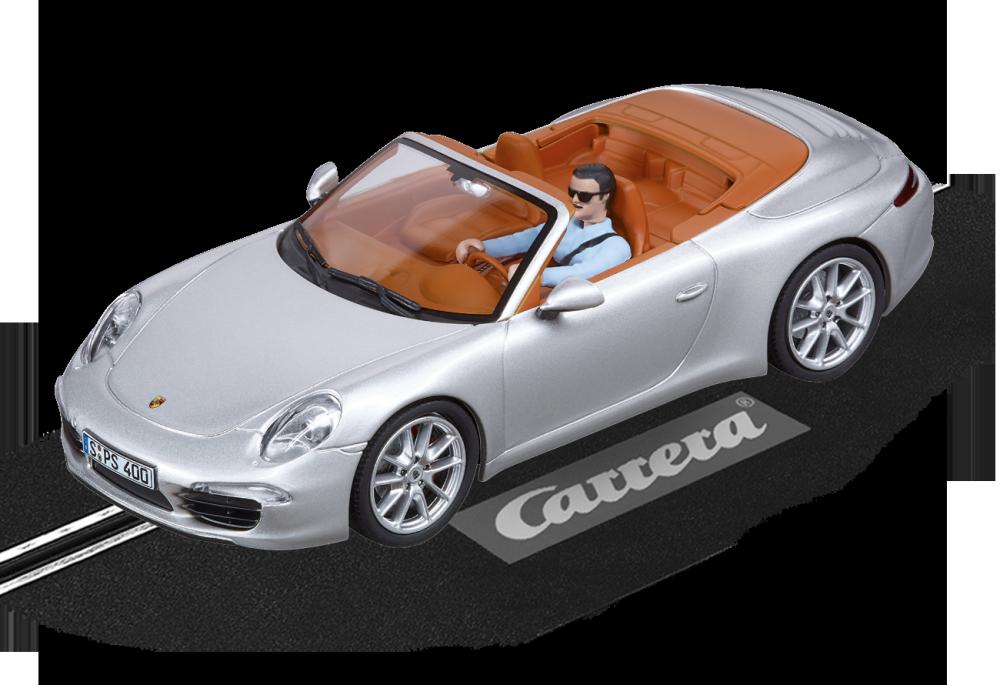 Carrera Evolution Porsche 911 Carrera S Cabriolet silber