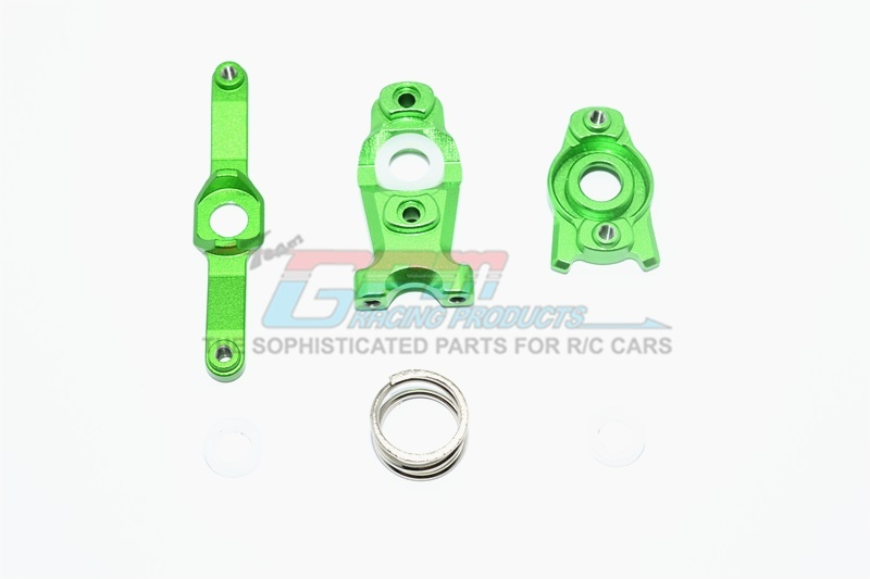GPM alloy steering assembly - 3PCS Set for Traxxas Revo 1:16