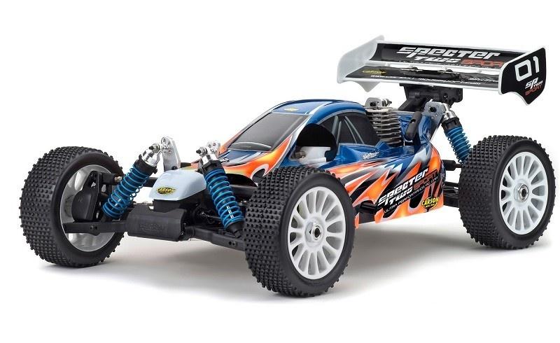 Carson Karosserie Specter Sport ARR Blau+Dekor 1:8