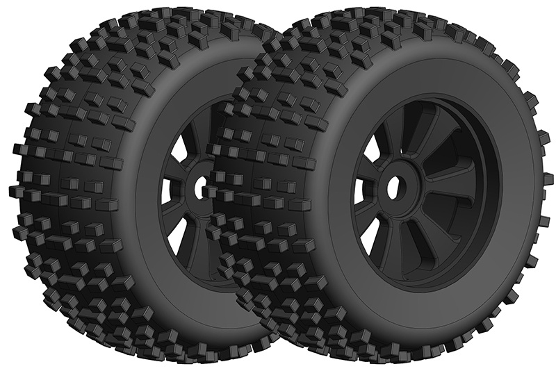 Team Corally Off-Road 1/8 Monster Truck Tires - Gripper -
