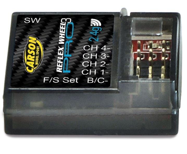 Carson Empfänger Reflex Wheel PRO 3 2.4 GHz