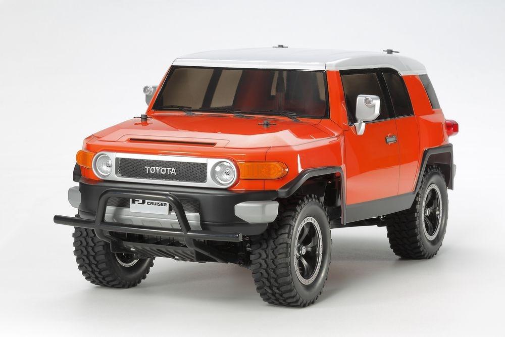 Tamiya RC Toyota FJ Cruiser Orange (CC-01) Bausatz 1:10