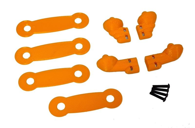 JS-Parts Karohalter-Set ultraflex Team Corally Jambo