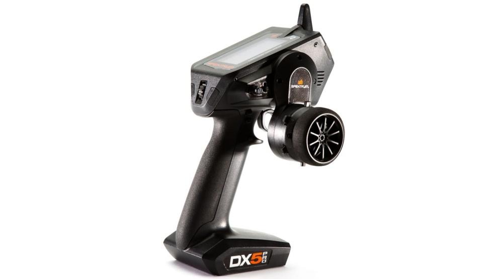 Spektrum DX5 Pro 5-Kanal DSMR Sender mit SR2100 Empfänger