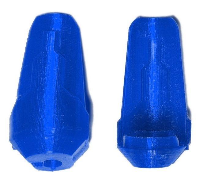 JS-Parts Kolbenschützer ultraflex  f. Traxxas X-Maxx blau