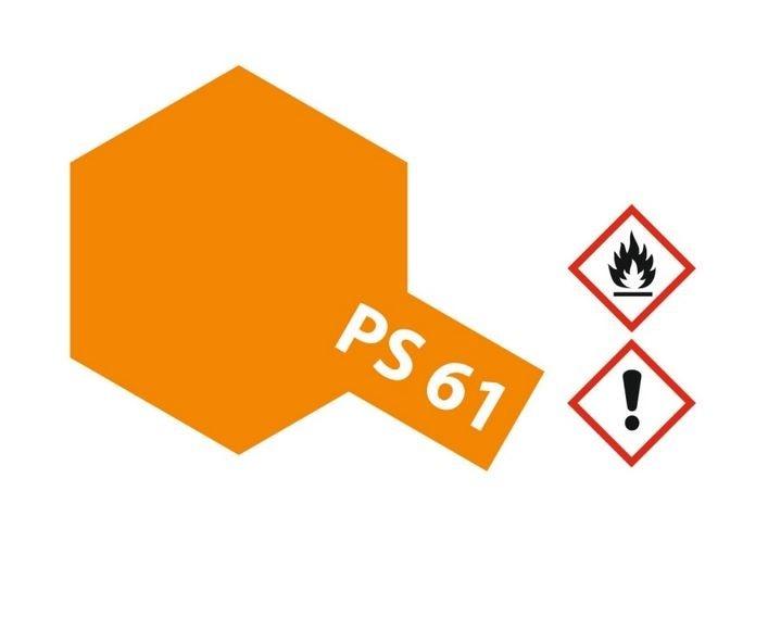Tamiya Lexanlack PS 61 metallic orange