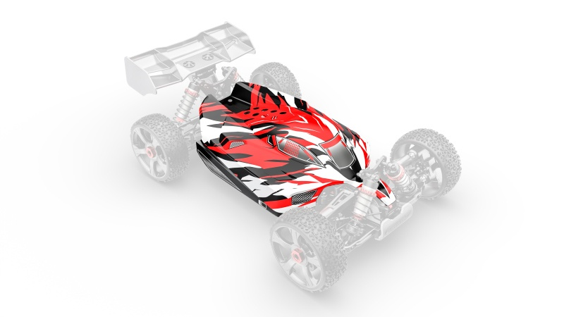 Team Corally Polycarbonate Body - Python XP 6S - Painted -