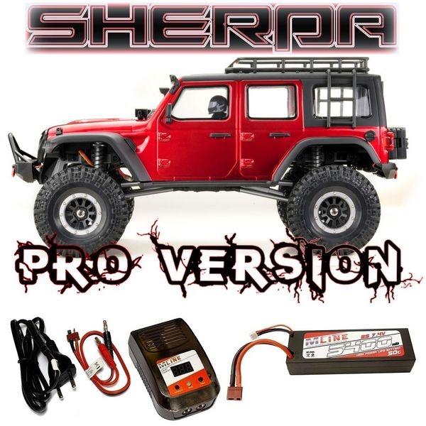 Absima 1:10 EP Crawler CR3.4 SHERPA-PRO Metallic-Rot