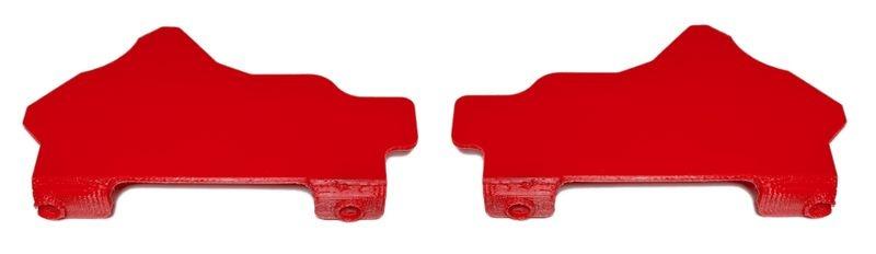 JS-Parts ultraflex Mudguards für Arrma Kraton/Outcast 8s rot