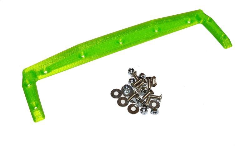 JS-Parts ultraflex Heckkante für X-MAXX Body von TMT grün