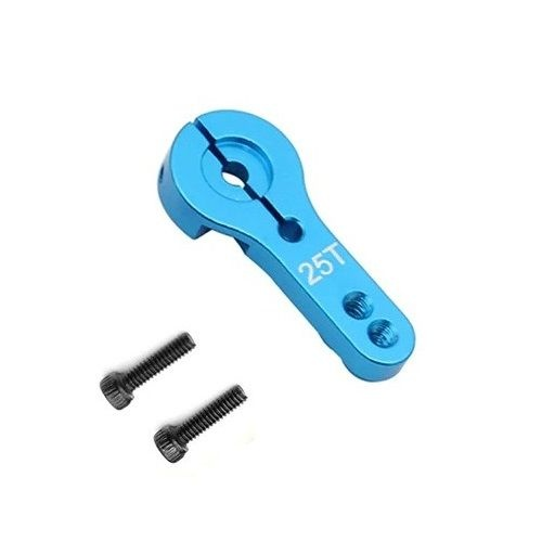 Flexytub Aluminium Servo Horn 25Z Blau