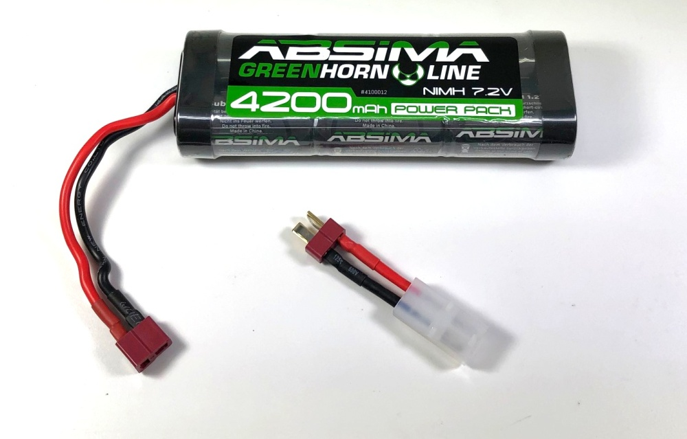 Absima Greenhorn NiMH Stick Pack 7.2V 4200
