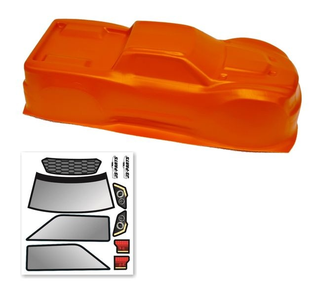 Probodyrc unbreakable Body für Traxxas Maxx orange