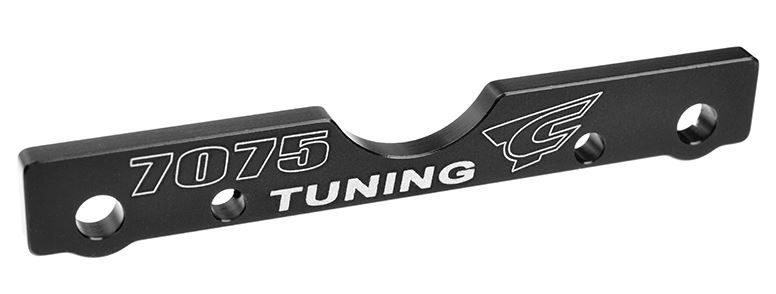 Team Corally  - Suspension Arm Mount - FR - Swiss Made 7075