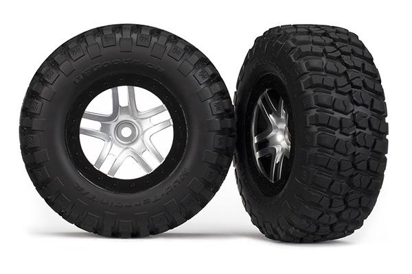 Traxxas Reifen auf Felge Slash 4x4