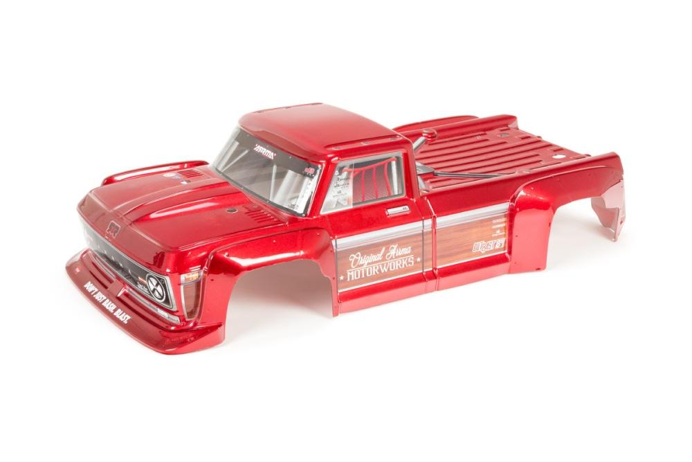 Arrma Outcast 8S Body Red (ARA409003)