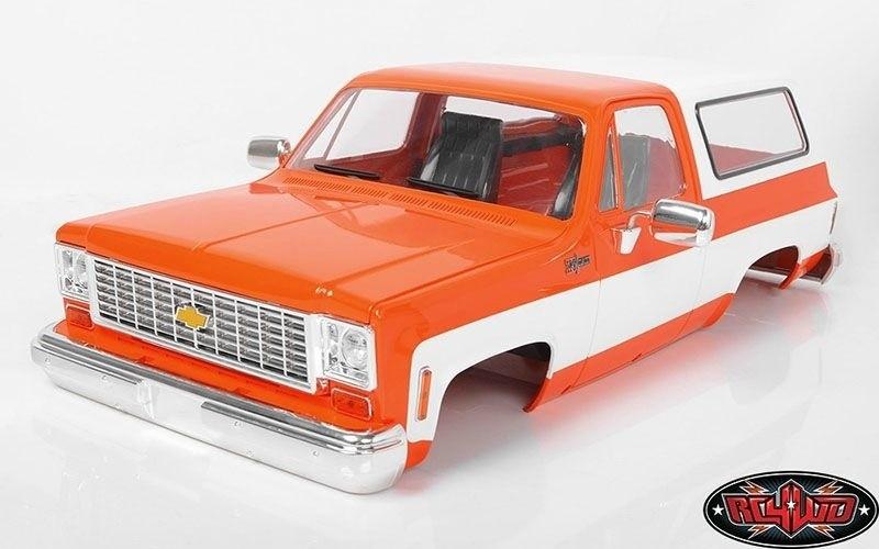 RC4WD Chevrolet Blazer Hard Body Complete Set orange 1:10