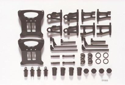 Tamiya B-Teile Aufhängung TT-01 Chassis