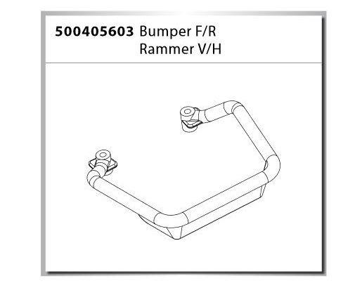 Carson X-Crawlee Pro Bumper F/R / Rammer V/H (2)