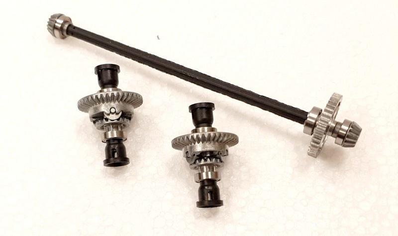 Carrera RC Profi Upgrade Kit Metallgetriebe