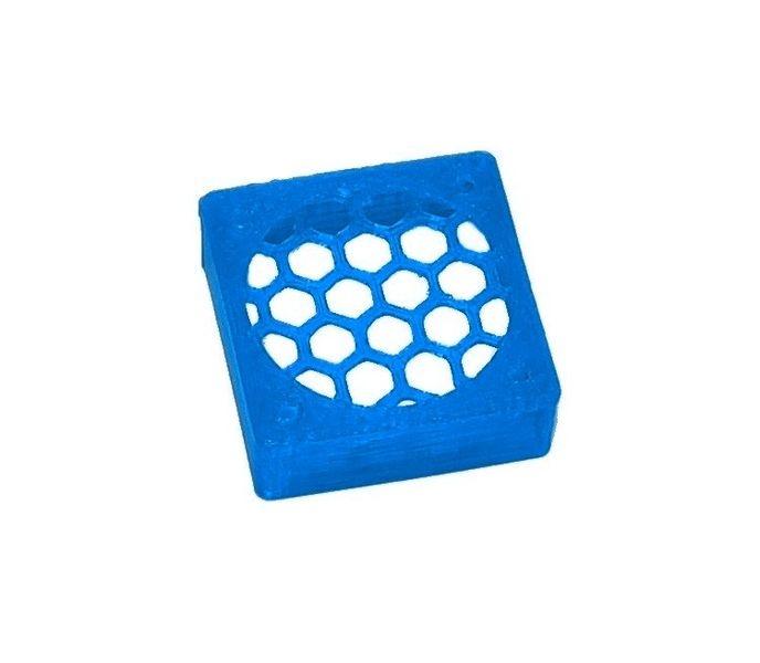 JS-Parts ultraflex Lüftergitter 30x10 geschlossen blau