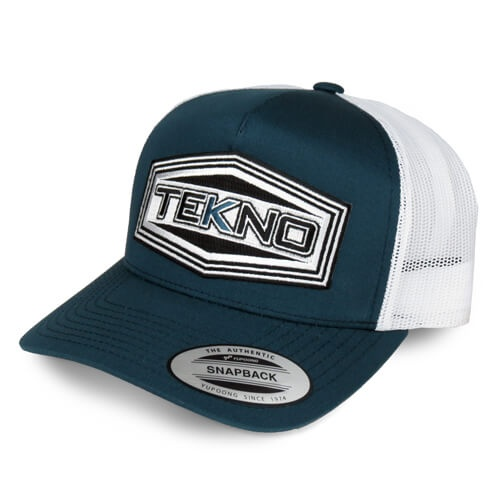 Tekno RC TKRHAT11R - Tekno RC Patch Trucker Hat