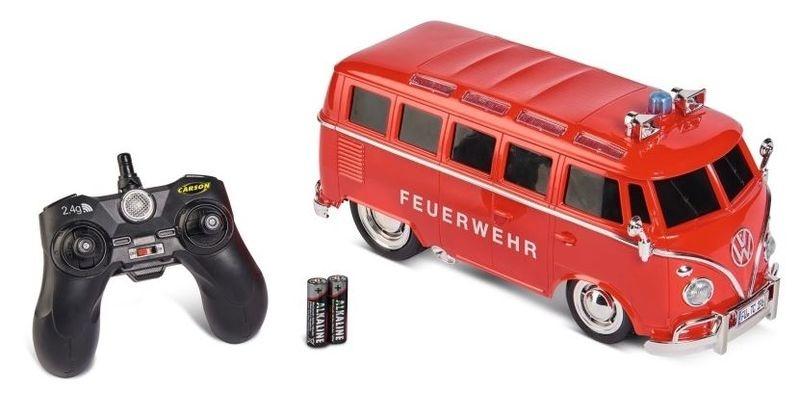 Carson 1:14 VW T1 Samba Bus Feuerwehr 2.4GHz 100% RTR