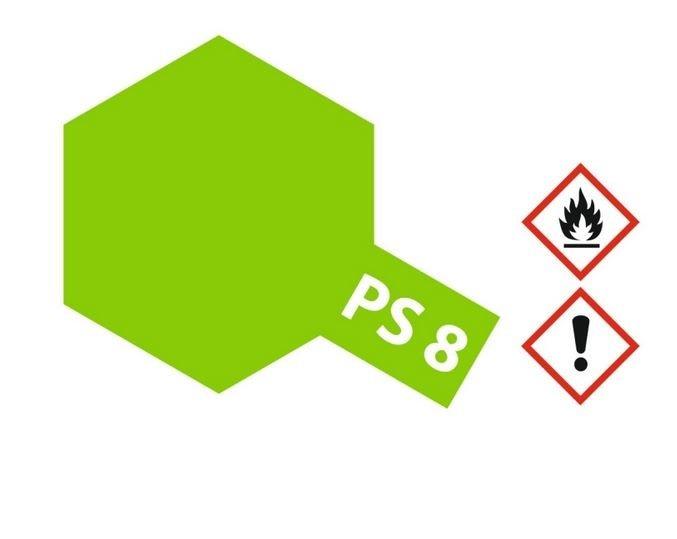 Tamiya Lexanlack PS 8 hell-grün