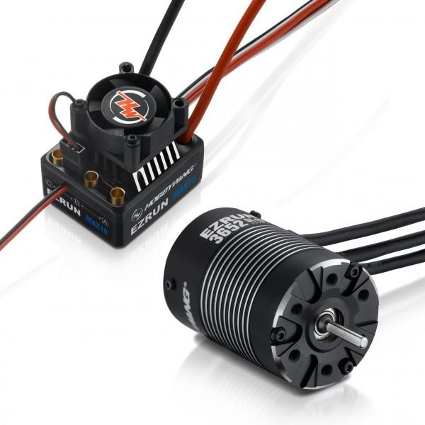 Hobbywing Ezrun MAX10 Combo mit 3652SL-4000kV