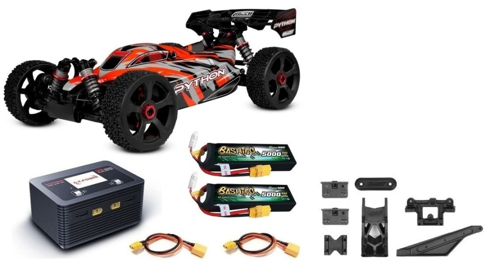 Team Corally - PYTHON XP 6S - 1/8 Buggy EP - RTR - BL Power