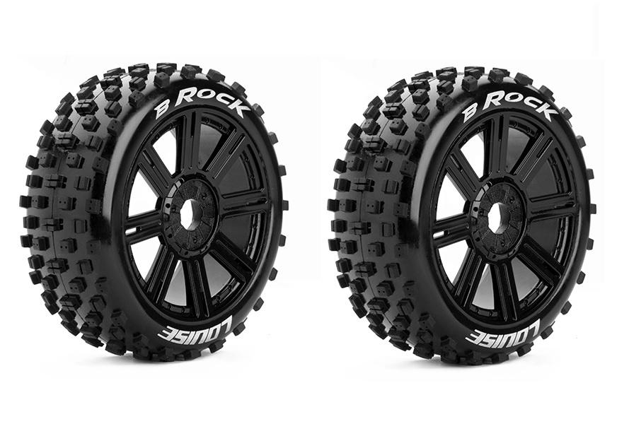 Louise RC - B-ROCK - 1:8 Buggy Reifen - Fertig Verklebt