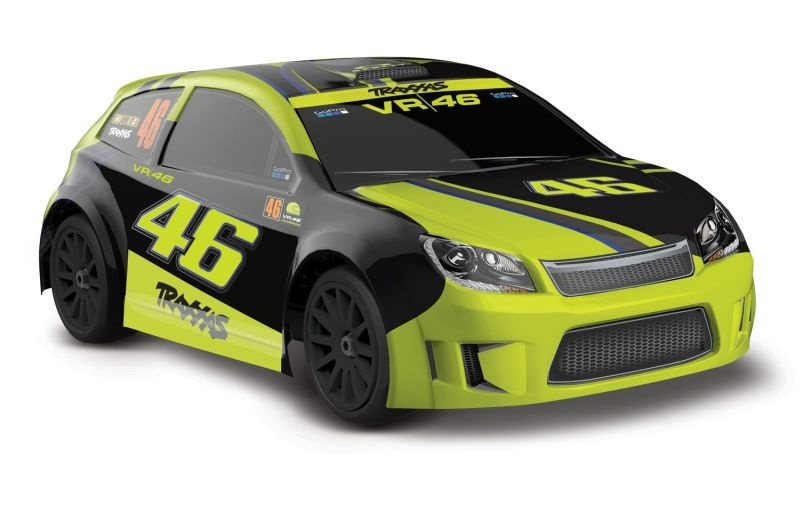 Traxxas LaTrax RALLY 2.4GHz 4WD Elektro Rally Racer RTR 1:18