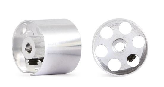 NSR 3/32 Alu Wheels f/Sponge 13,3x11mm (2)
