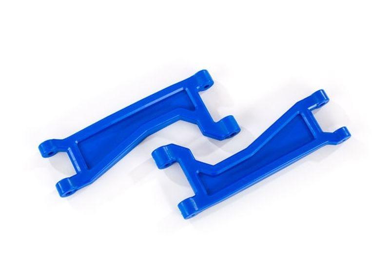 Traxxas Querlenker oben blau (2) L/R V/H