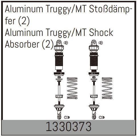 Absima Aluminum Truggy/MT Stoßdämpfer (2)