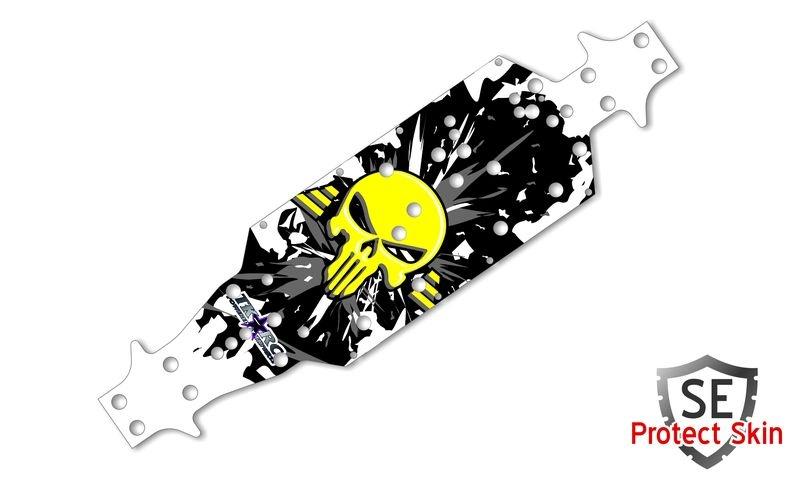 JS-Parts SE Protect Skin Printed Punisher