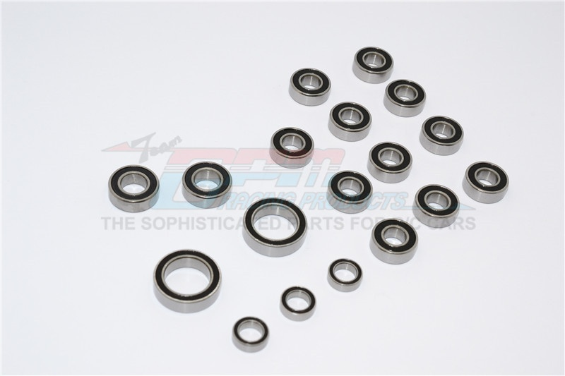 GPM CC01 full set rubber seal bearings- 18PCS - 1 SET -