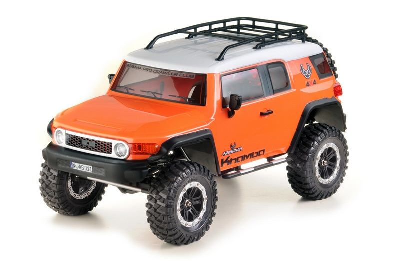 Absima 1:10 Crawler CR3.4 KHAMBA orange 2.4GHz RTR