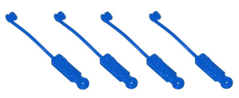 JS-Parts Rubbergrabber/Splint Grip mit Halteband/Sicherung