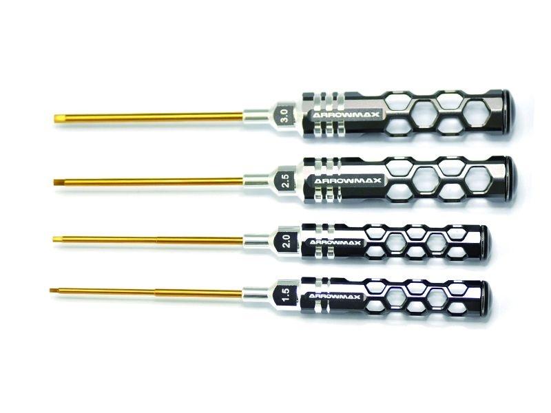 Arrowmax ALLEN WRENCH SET 1.5 2.0 2.5&3.0x100mm